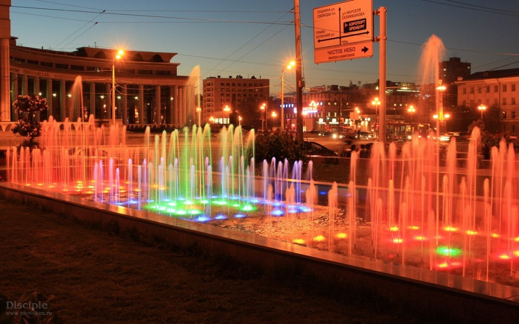 Bus tour Night City Lights russia kazan tour2