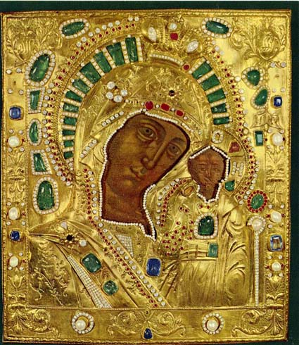 Kazan miraculous icon of Mother of God 14