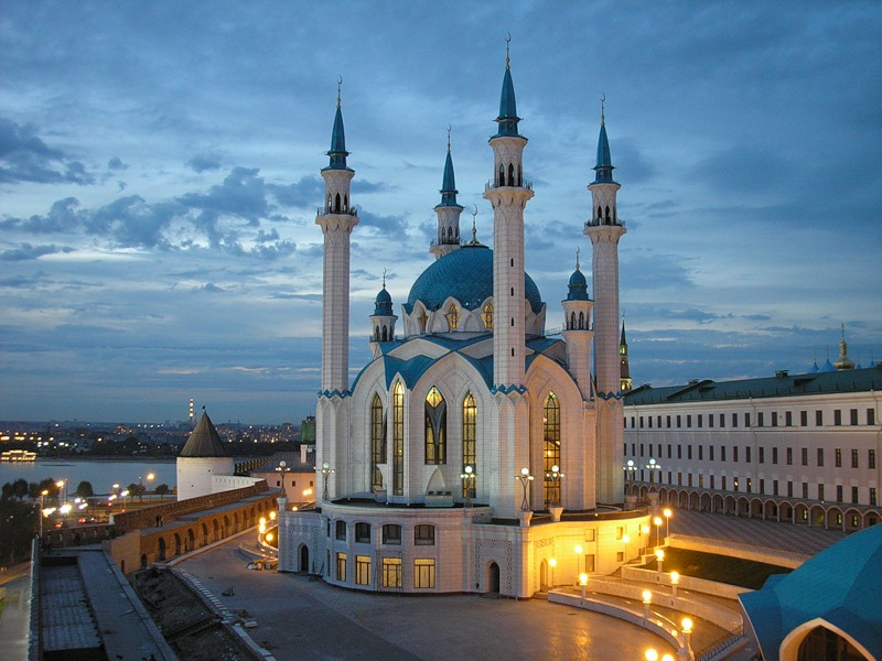 Kul-Sharif Mosque in Kazan (1)