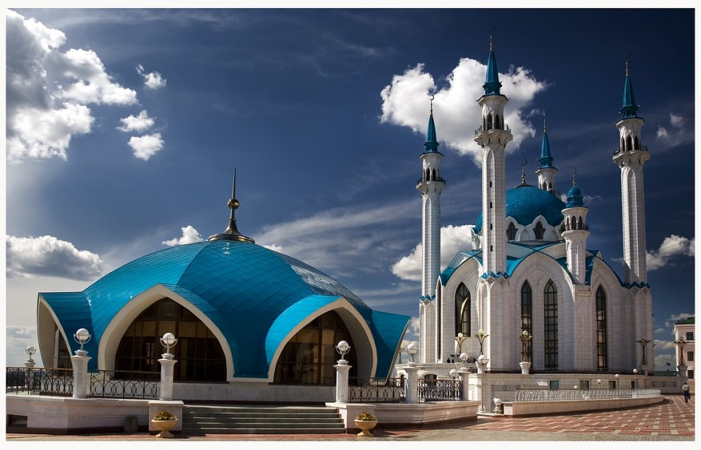 Kul-Sharif Mosque in Kazan (2)