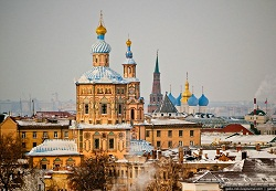 Peter and Paul Cathedral Russia Kazan Tour (1)