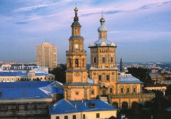 Peter and Paul Cathedral Russia Kazan Tour (2)
