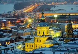 Peter and Paul Cathedral Russia Kazan Tour (3)