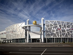 Tour of the facilities of Universiade 2013 ( Russia Kazan 2013 Universiade ) (1)