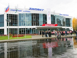 Tour of the facilities of Universiade 2013 ( Russia Kazan 2013 Universiade ) (2)